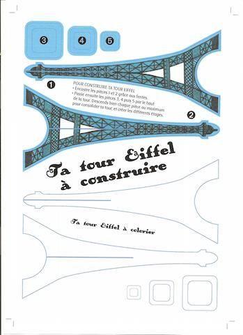 Tour Eiffel à construire