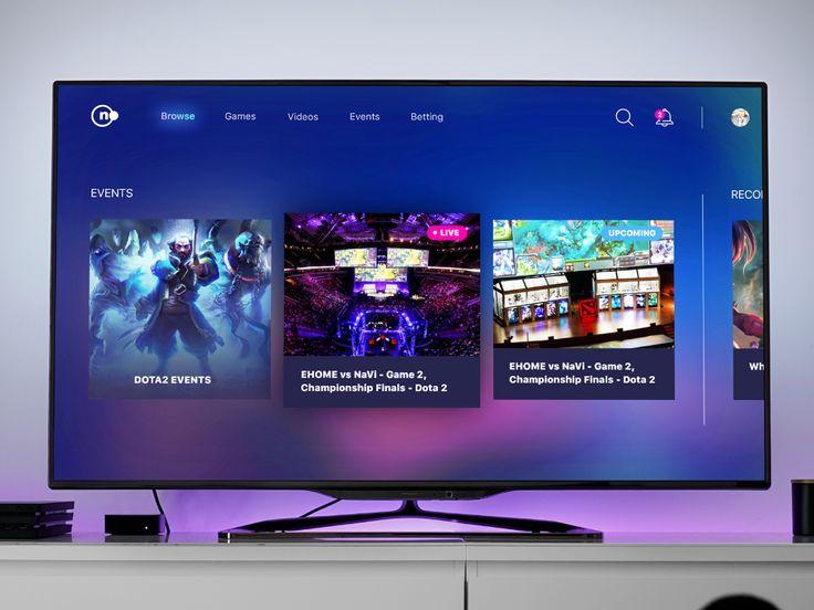 Smart TV App for esports in 2020 Tv app, Smart tv