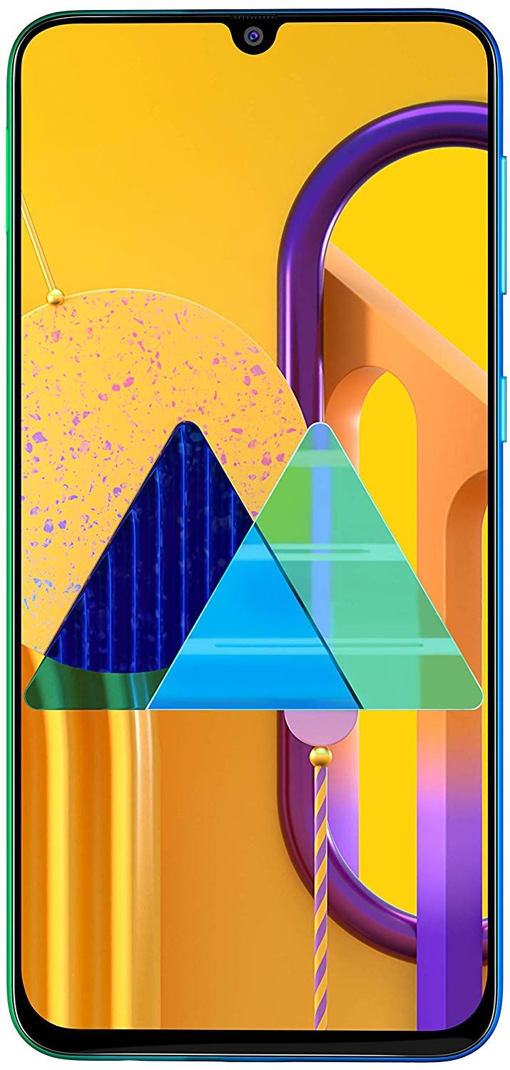 Samsung Galaxy M30s Blue 4gb Ram Super Amoled Display 64gb Storage 6000mah Battery In 2020 Samsung Galaxy Stock Wallpaper Samsung