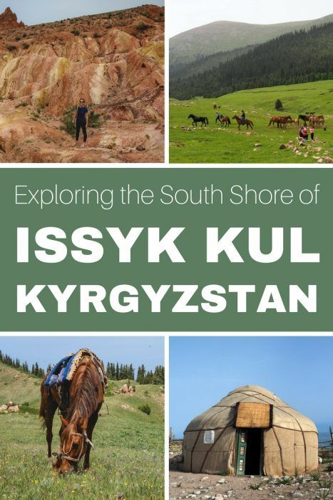 Exploring the South Shore of Issyk Kul Lake