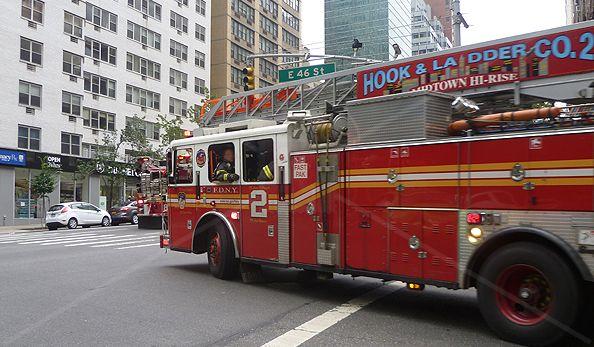 NY - Camion dei #Pompieri USA New York