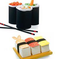 Sushi ~ een kleine surprise voor een klein cadeautje zoals nagellak.