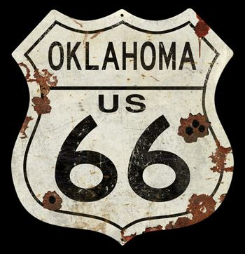 Oklahoma Route 66 Vintage Sign | Signs Signs For Sale: Route 66 ...