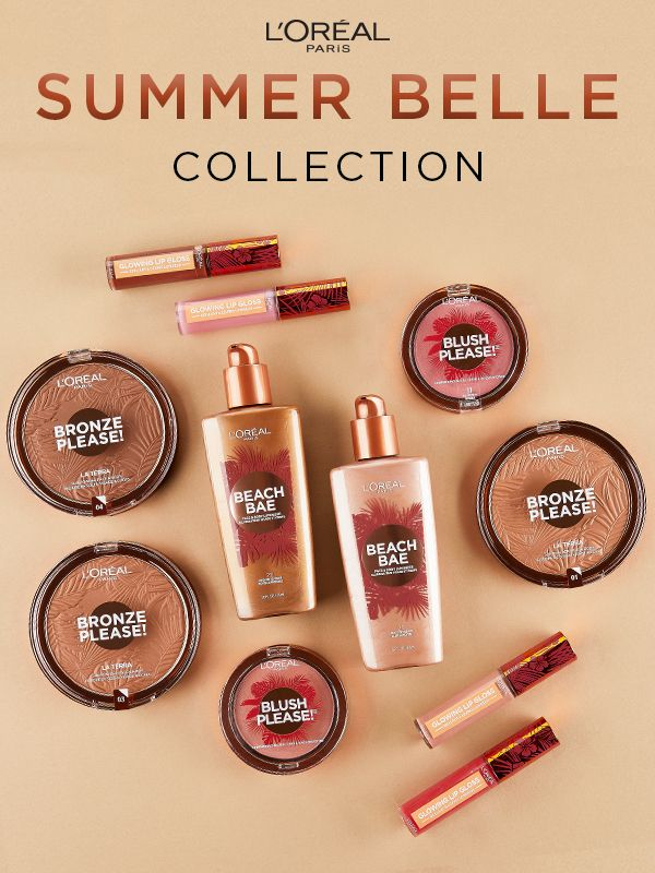 7f65685ea3a1 In collaboration with Walmart, L'Oreal Paris brings you the new Summer  Belle Collection