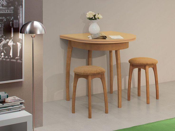 Кухонные столы : Стол обеденный овальный с выдвижн. подстольем