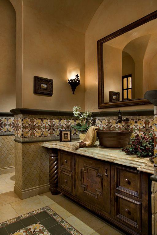 Best 25 italian bathroom ideas on pinterest basins for Mediterranean style bathroom