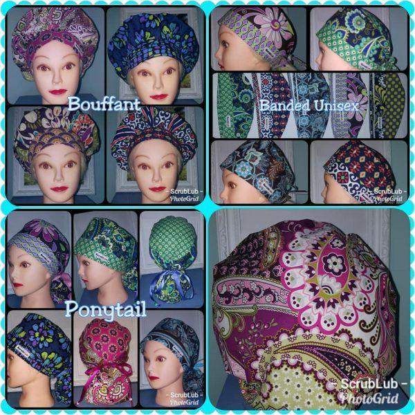 Berry Scrub Hat