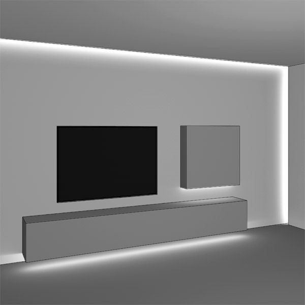 die besten 17 ideen zu indirekte beleuchtung led auf. Black Bedroom Furniture Sets. Home Design Ideas