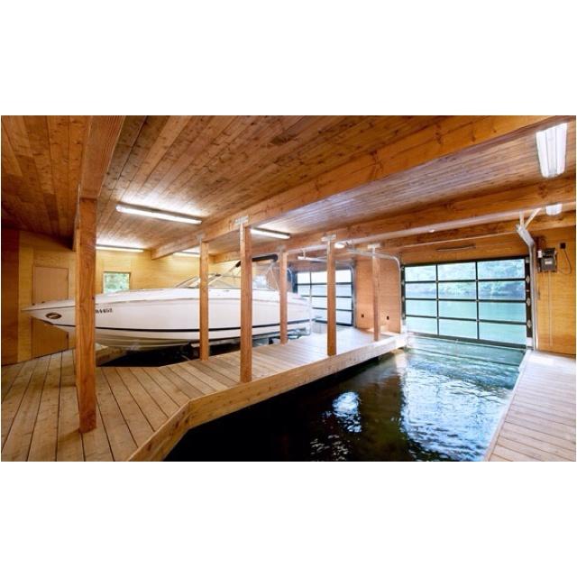 24 best dream home innovations images on pinterest for Boat garages