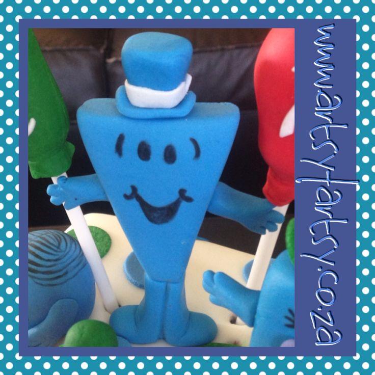 Mr Men, Mr Cool Sugar Figurine #mrmensugarfigurine #mrcoolsugarfigurine