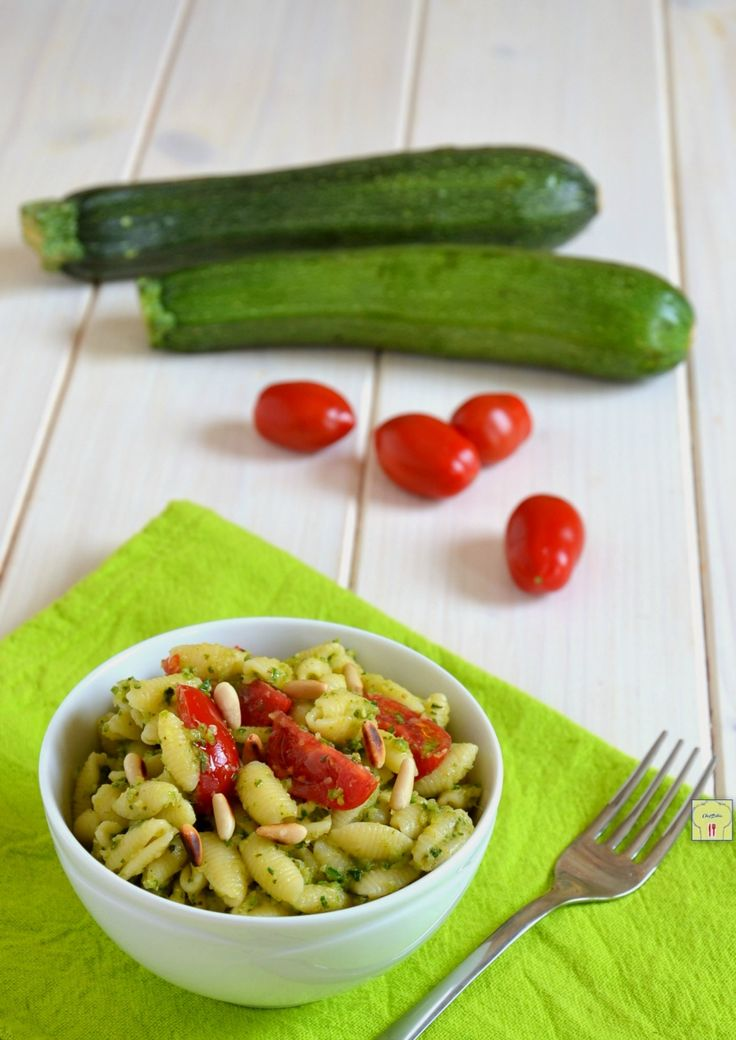 pasta fredda zucchine e pomodorini gp