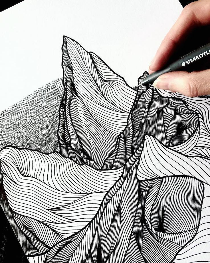 Drawing Ideas With Lines: 25+ Best Ideas About Drawings Of Mountains On Pinterest