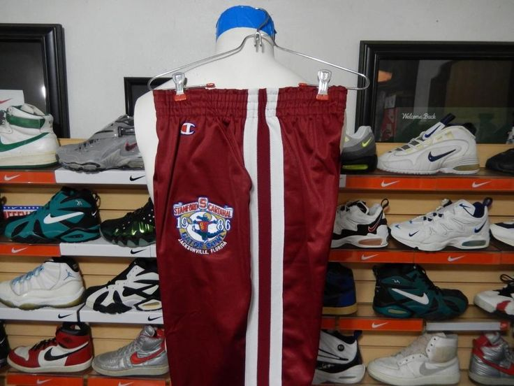 VTG NOS Champion Stanford Cardinal 1986 Gator Bowl Football Pants USA NCAA Med #Champion #Pants