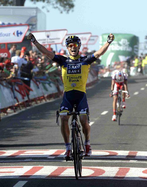Nicolas Roche @ 2013 İspanya Bisiklet Turu 2. Etap