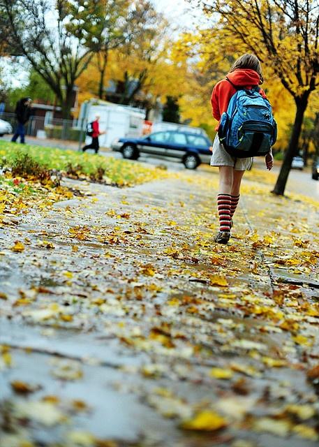 fall school days