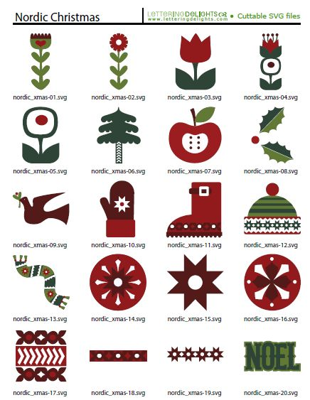 Great collection of Nordic Christmas images.
