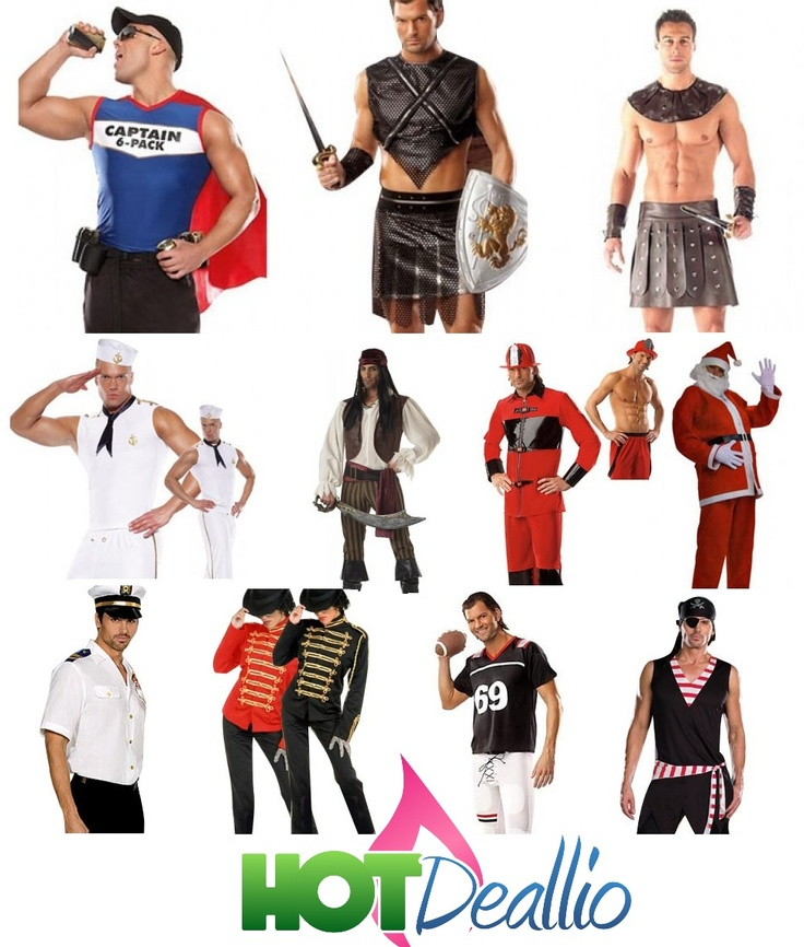 Sexy's Mens Halloween Costumes $20.00. Hottest costumes delivered to your door. Visit www.hotdeallio.com