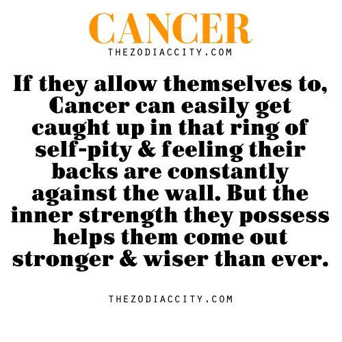Cancer zodiac facts.