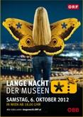 Plakakt Lange Nacht der Museen 2012