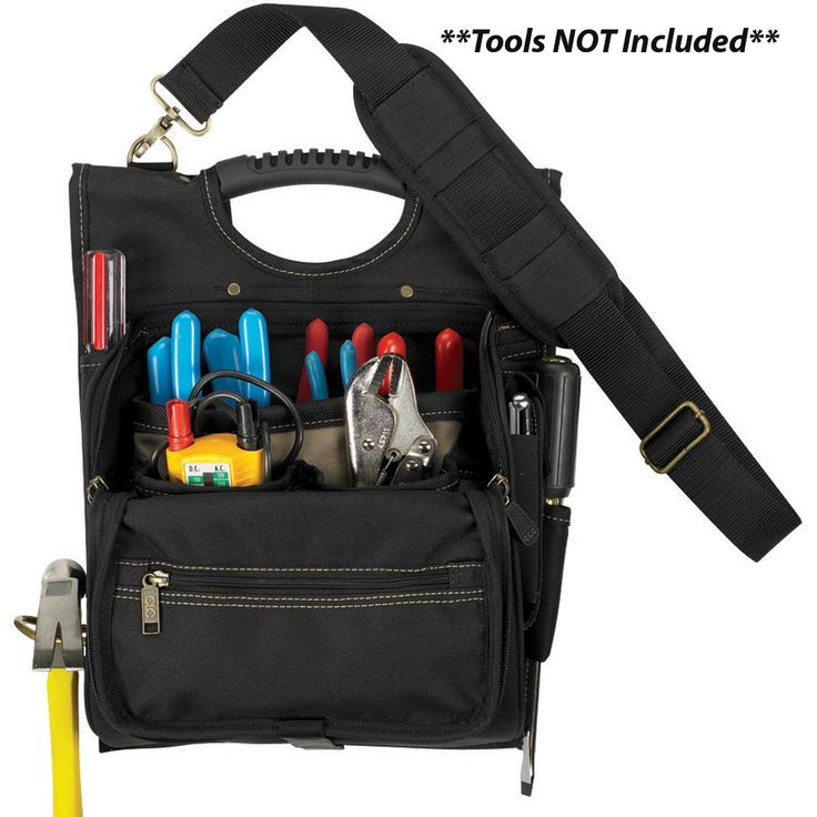 CLC 1509 21 Pocket Professional Electrician's Tool Pouch - https://www.boatpartsforless.com/shop/clc-1509-21-pocket-professional-electricians-tool-pouch/