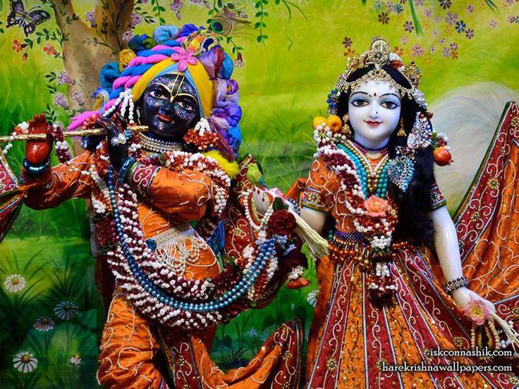 Sri Sri Radha Madan Gopal Close up