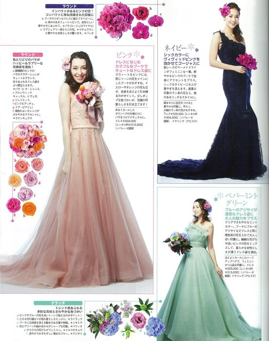 NOVARESE 25ansウエディング wedding dress flower wedding dress ノバレーゼ
