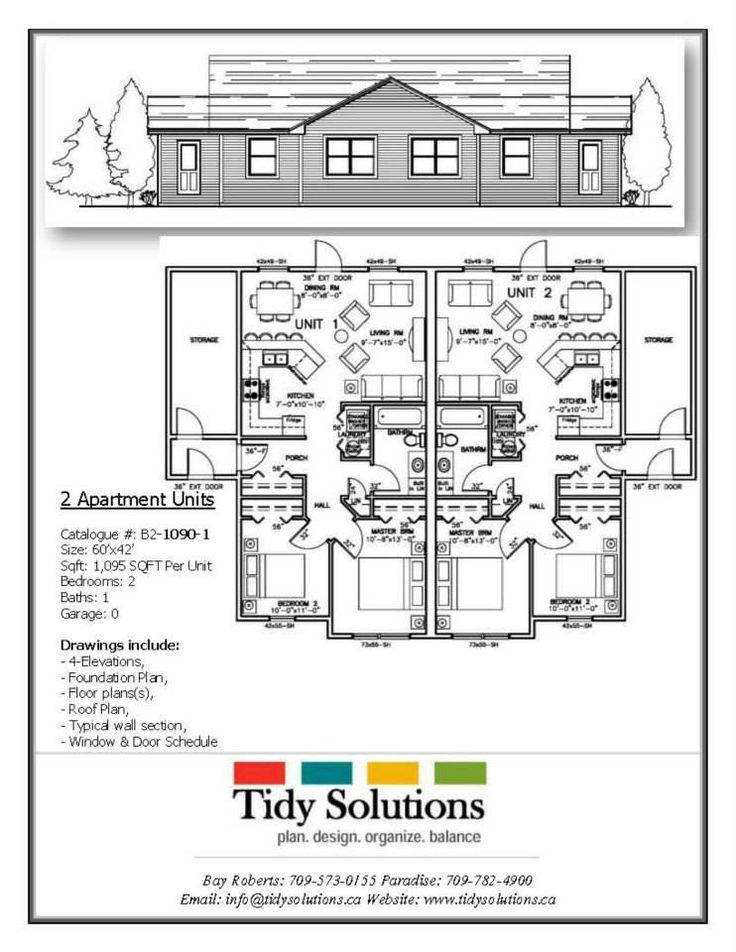 76 best multi unit plans images on pinterest little for Multi unit floor plans
