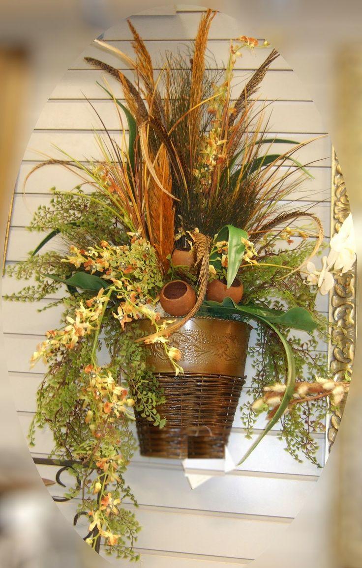Best 71 Silk Flower Ideas Images On Pinterest Floral Arrangements