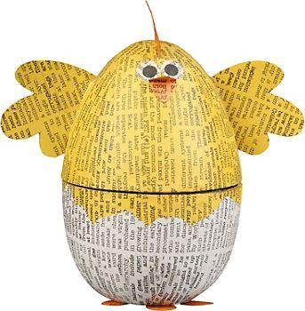 Chick Egg Box  Via paper-source.com