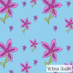 flowers digital pattern