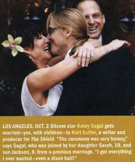 Katey Sagal and Kurt Sutter's Wedding   Sons Of Anarchy ...