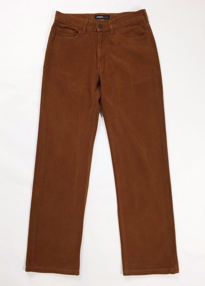 Cerruti jeans w31 tg 44 46 uomo gamba dritta pantalone usato velluto T677