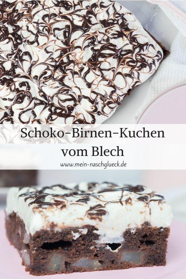 Schoko Birnen Kuchen Vom Blech Rezept Birnen Kuchen Kuchen Rezepte Ausgefallen Und Blechkuchen Rezepte