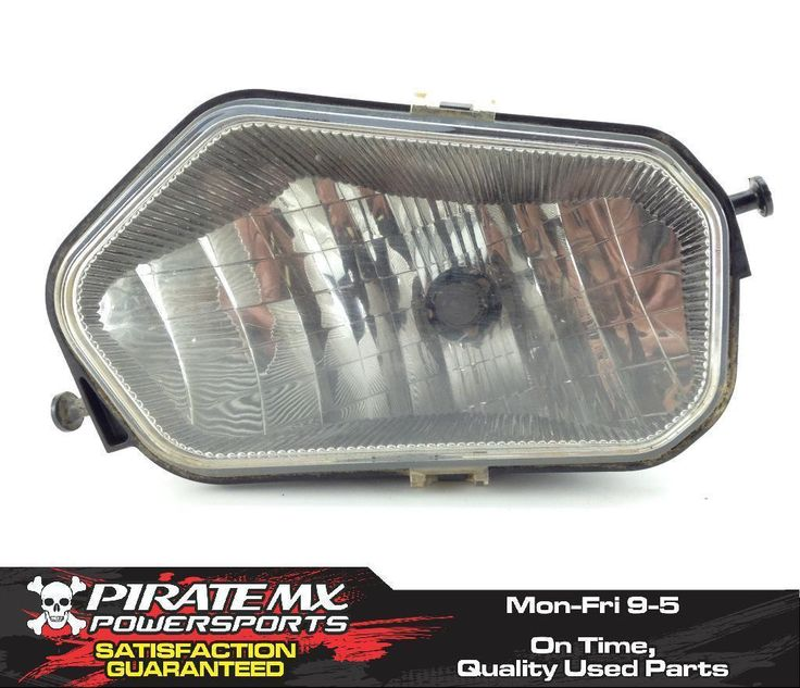 Right Headlight Head Light From 2013 Polaris RZR 800 #23 *