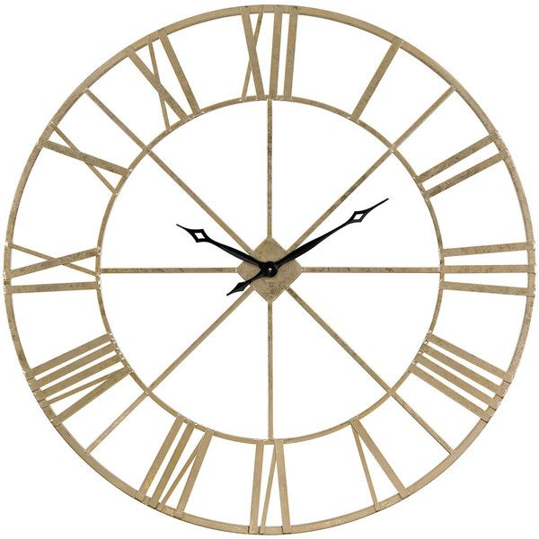 Decorative Clocks For Walls top 25+ best gold wall clock ideas on pinterest | rose gold