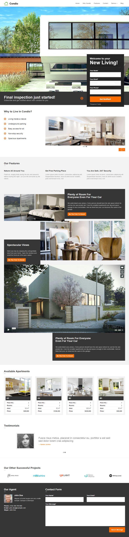 Google themes video - Condio Is Premium Responsive Parallax Wordpress Realestate Theme Visual Composer Onepage