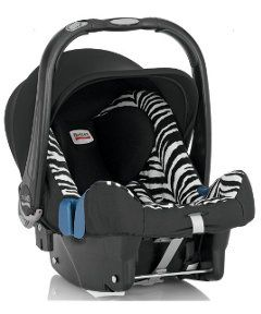 Britax Baby-Safe Plus SHR II Baby Car Seat - Smart Zebra. Birth to 13kg. http://www.parentideal.co.uk/mothercare---car-seat.html