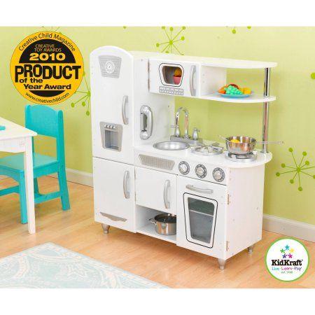 Kidkraft Vintage Wooden Play Kitchen White