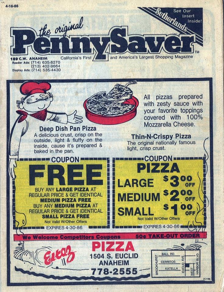 PennySaver cover circa 1986.