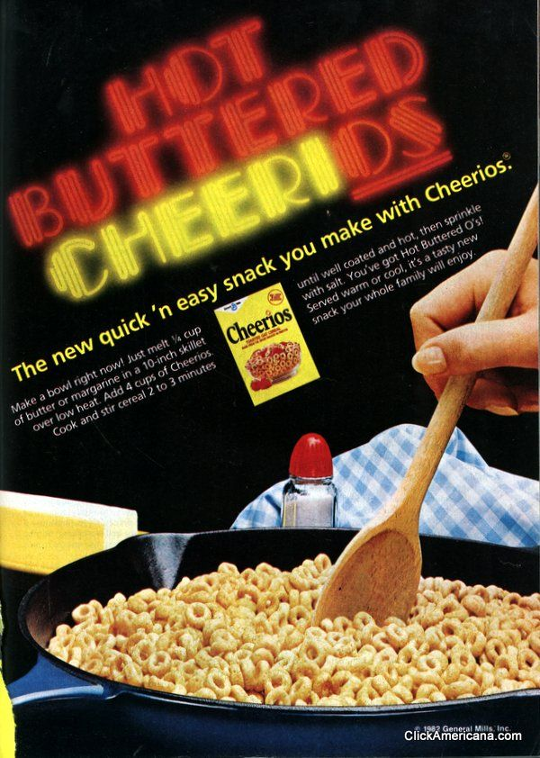 We love this throwback of Hot Buttered Cheerios, Perfect for holiday weekend snacking!