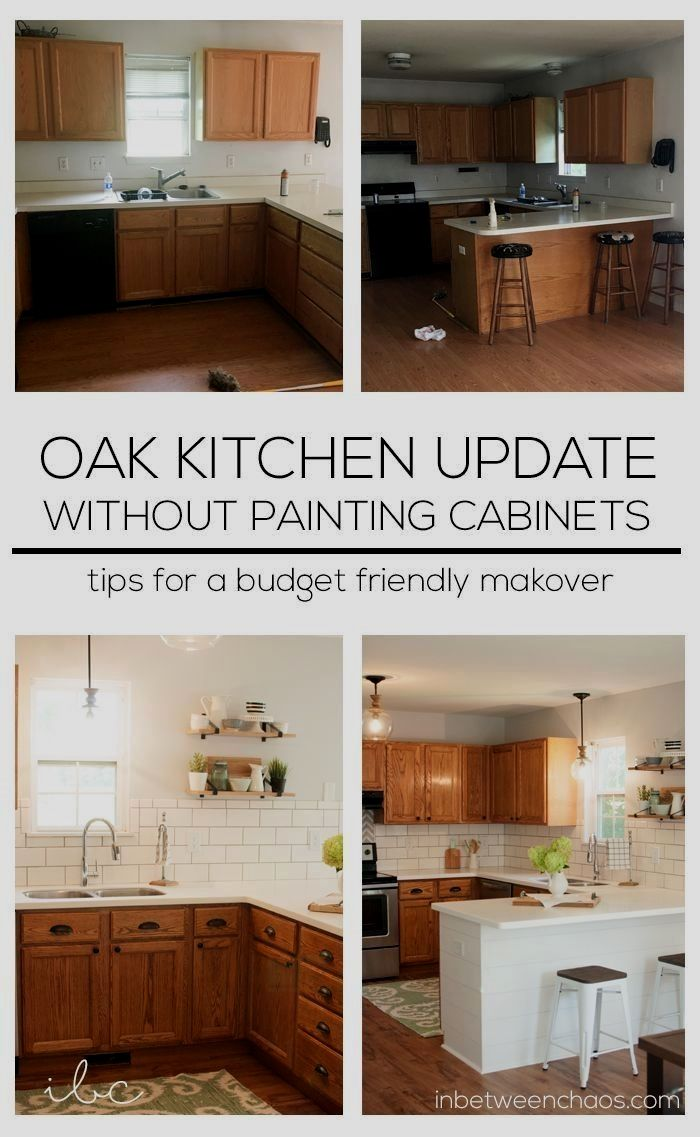 Easy Budget Friendly Ways To Update Your Kitchen Without Painting Budget Kitchen Remodel New Kitchen Cabinets Kitchen Remodeling Projects