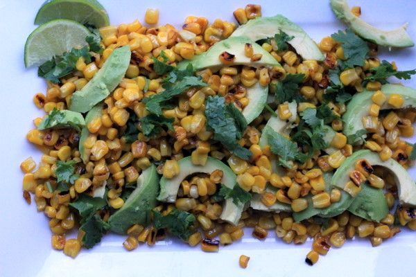 Corn Avocado and Cilantro Salad | Recipe