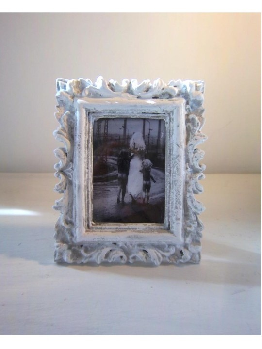Small Vintage Upcycled frame