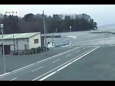 Scariest Japan Tsunami Video Ever! - YouTube