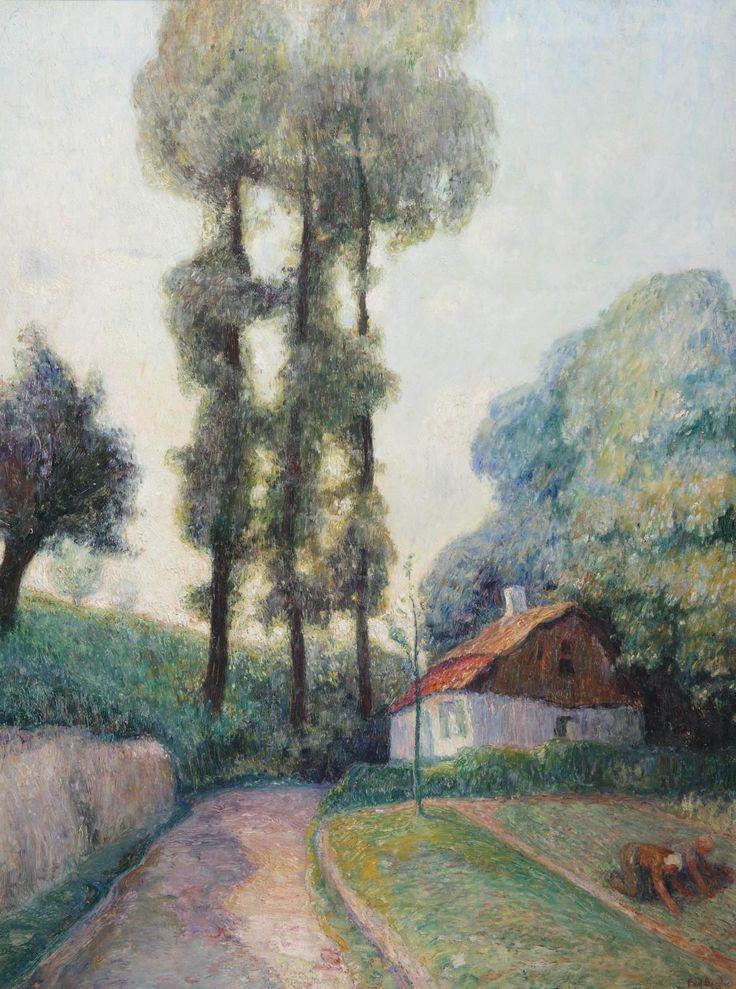 Frits van den Berghe (1883-1939)  In The Garden 1912 (80 x 60 cm)