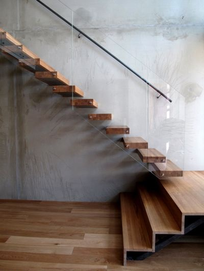 Stairs & glass