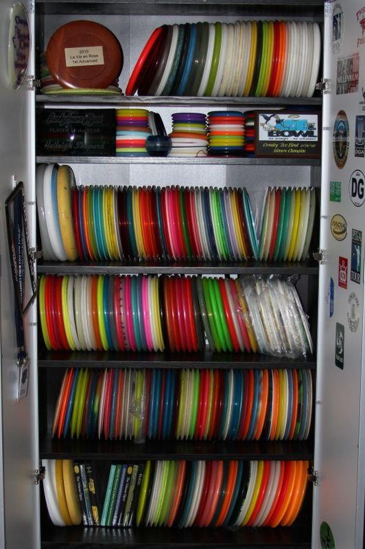 PVC disc storage [Archive] - Disc Golf Course Review