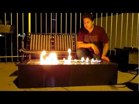Great video showing Napoleon's outdoor linear patio flame