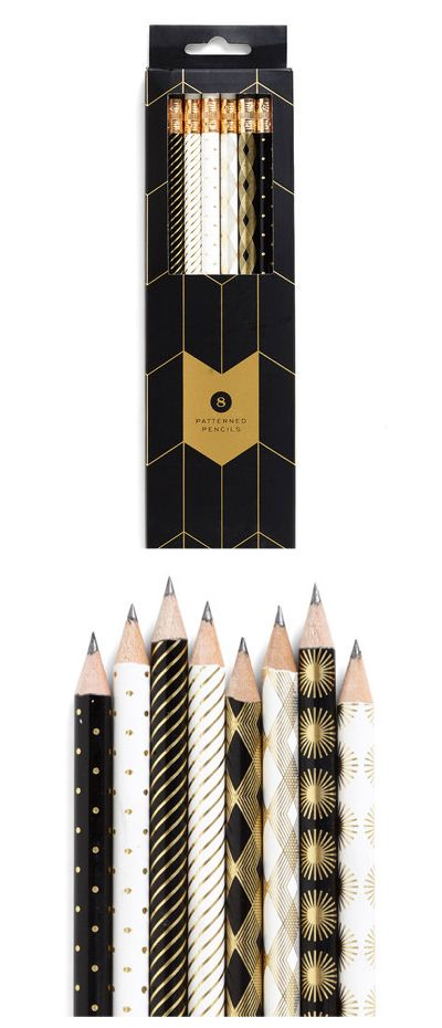 Stationery of the Art Pencil Set by Chronical Books—Pretty design!