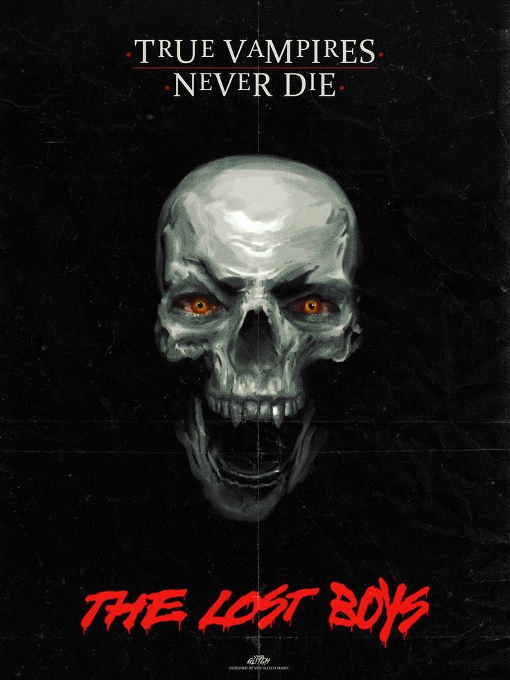 The Lost Boys Tribute Poster (True Vampires Never Die)